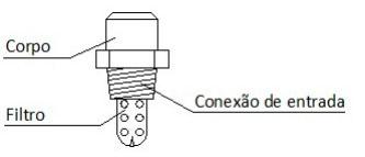 Image dos detalhes Bico projetor de alta velocidade Tipo HV-26